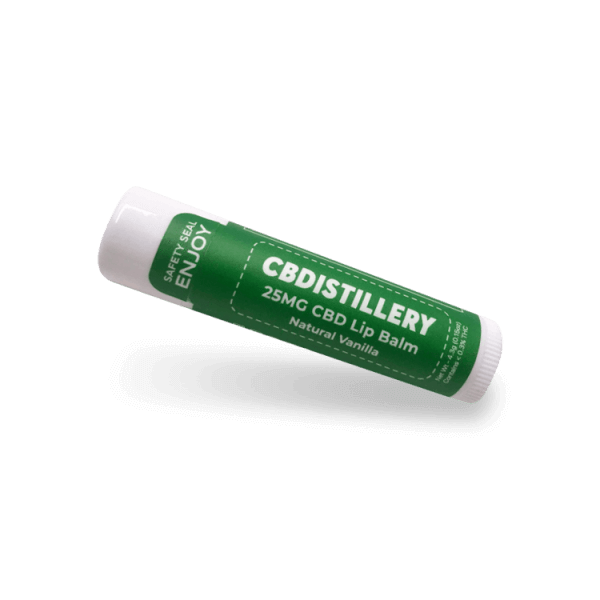 CBDistillery CBD Lip Balm Product Review