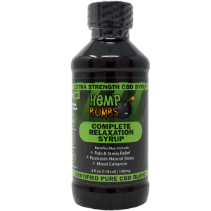 Hemp Bombs Complete Relaxation CBD Syrup Product Review
