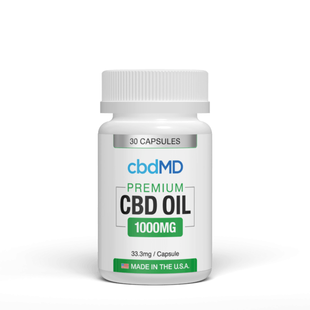 cbdMD CBD Oil Softgel Capsules Product Review