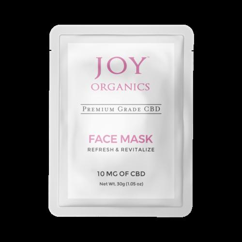 Joy Organics CBD Face Mask Product Review