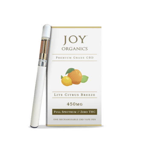 Joy Organics CBD Vape Oil Pen + Cartridge Product Review