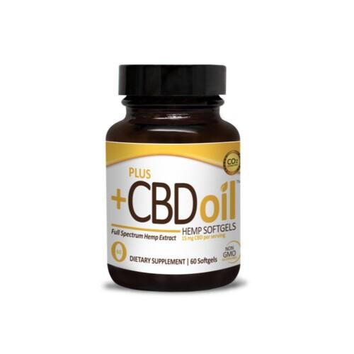 PlusCBD Oil Gold Formula Hemp Softgels Product Review