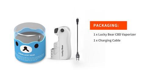 Product Review: Atman Lucky Bear CBD/THC Mini Mod Vaporizer 2