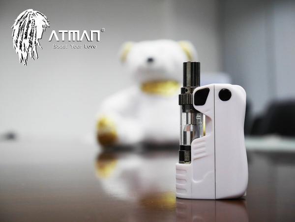Product Review: Atman Lucky Bear CBD/THC Mini Mod Vaporizer 1