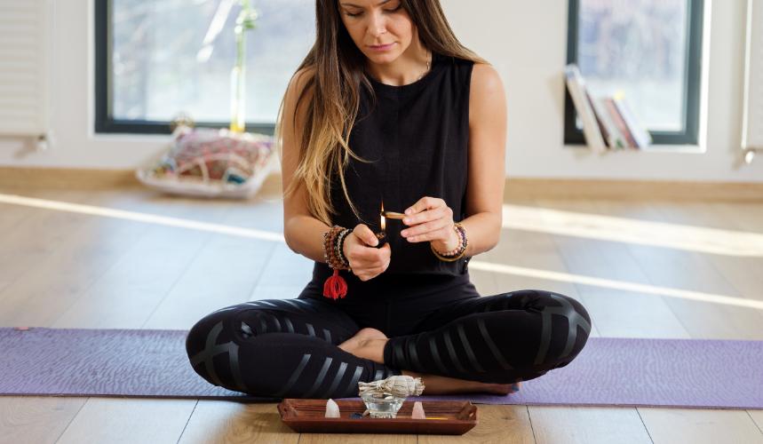 cannabis with meditation