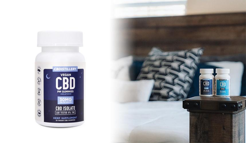 cbdistillery vegan cbd capsules sleep