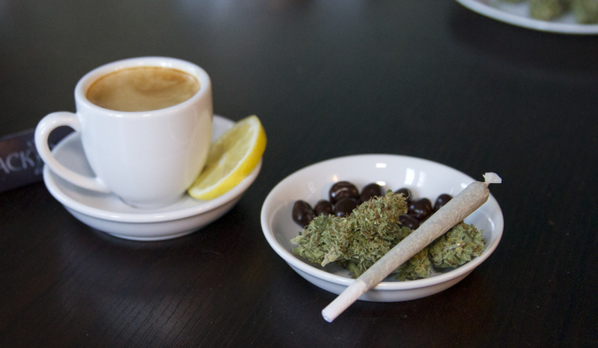 coffee and a joint
