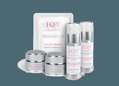 Joy Organics CBD Skin Care Bundle