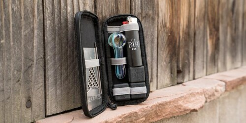 The Professional, Stylish Pipe Travel Kit + 3 Stealthy Smoking Devices 1
