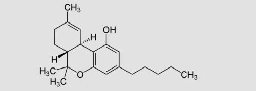Tetrahydrocannabinol (THC) 1