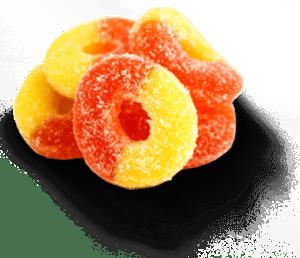 seabedee cbd peach ring gummies