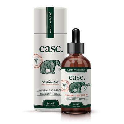 earth medicine ease 600mg microcbd natural cbd drops product review