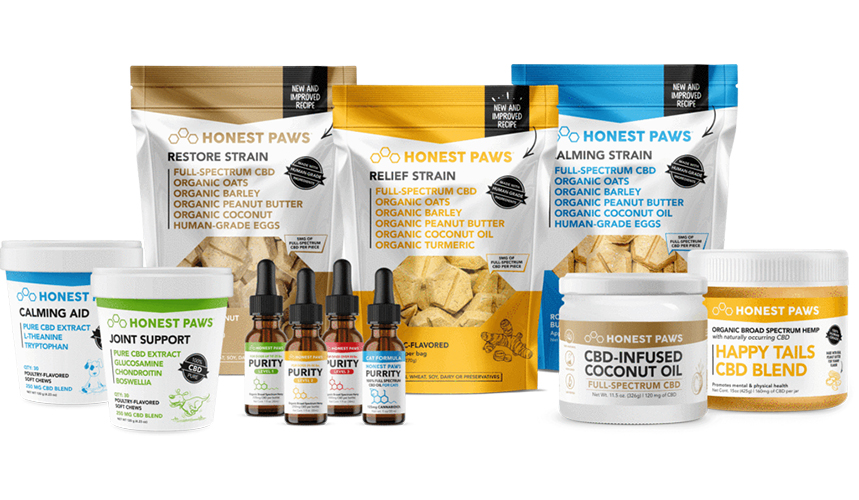 best cbd for pets honest paws