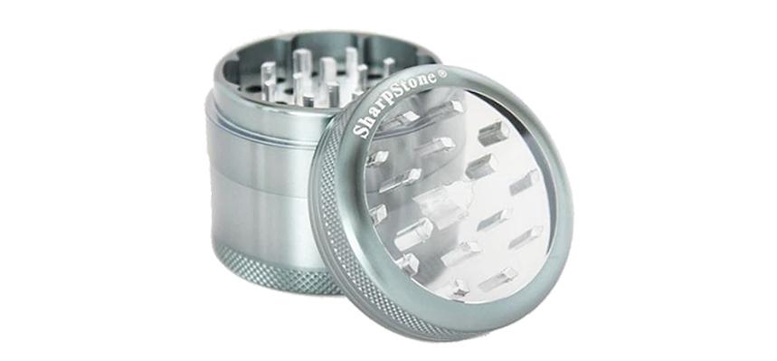 clear top grinder